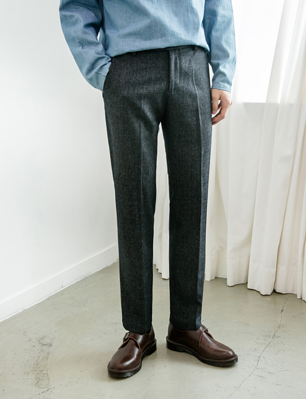 TAILER SLACKS PANTS_GRAY