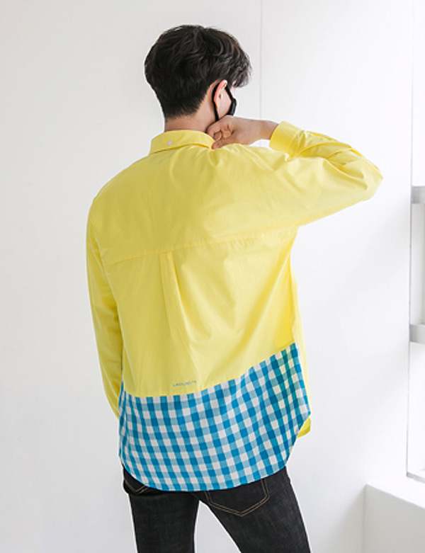 CHECK SHIRTS_YELLOW