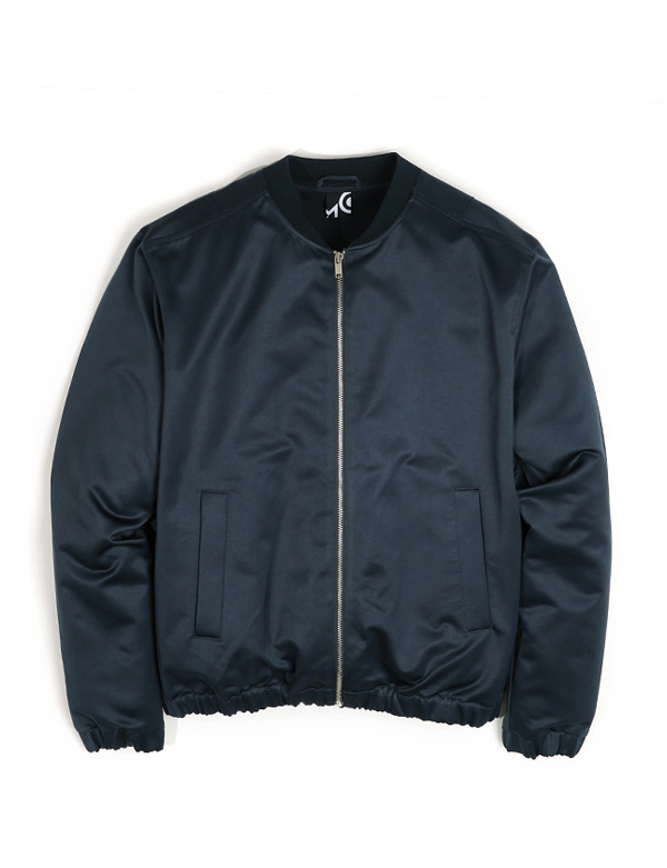 SMOOTH BLOUSON_NAVY