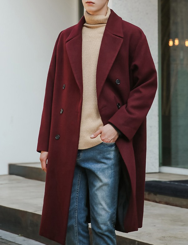 DOUBLEBUTTON BIG COAT[CS2608][Ⅷ]