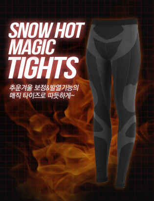 [AX1111]Snow Hot Magic 타이즈( 1 color M/L 사이즈 )