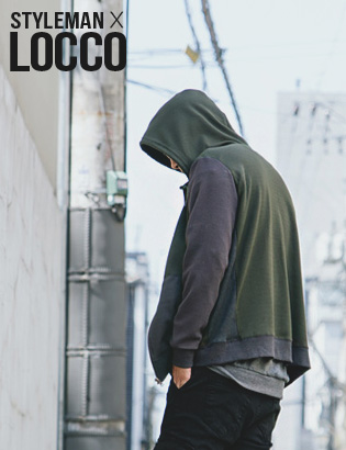 [AS0153]Rick Hood Zip-up( 1 color M/L 사이즈 )