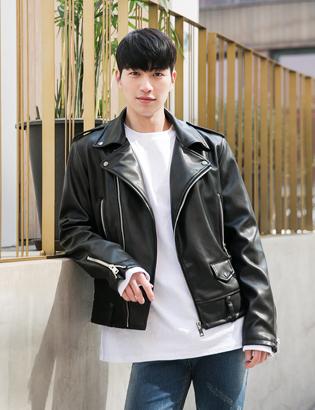 [BT3174]로랑 라이더 재킷( 1 color  M/L사이즈 )