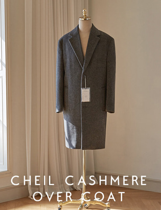 Veil Cashmere Over Coat_charcoal[CT3020]