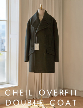 Veil Overfit Double Coat_khaki[CT3024]