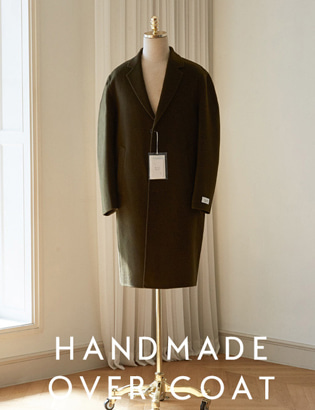 Handmade Over Coat_khaki[CT3033]