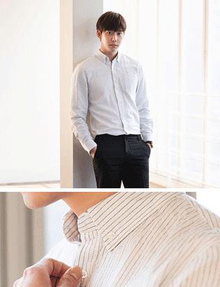 [BB1604]아이엠 스트라이프 셔츠( 3 color M/L 사이즈 )
