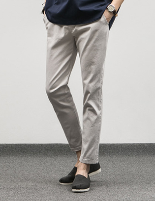 [BJ0741]Chino Banding Pants( 5 color M/L size )